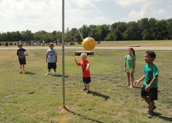 Play Day in Bel Aire, Kansas