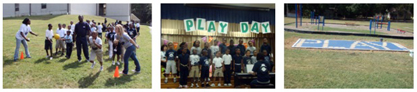 Pecan Park Elementary School Play Day