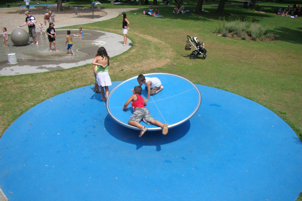 Salamander Playground in Montreal, Canada