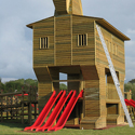 Trojan Horse Playground in Turkey