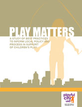 Play Matters cover