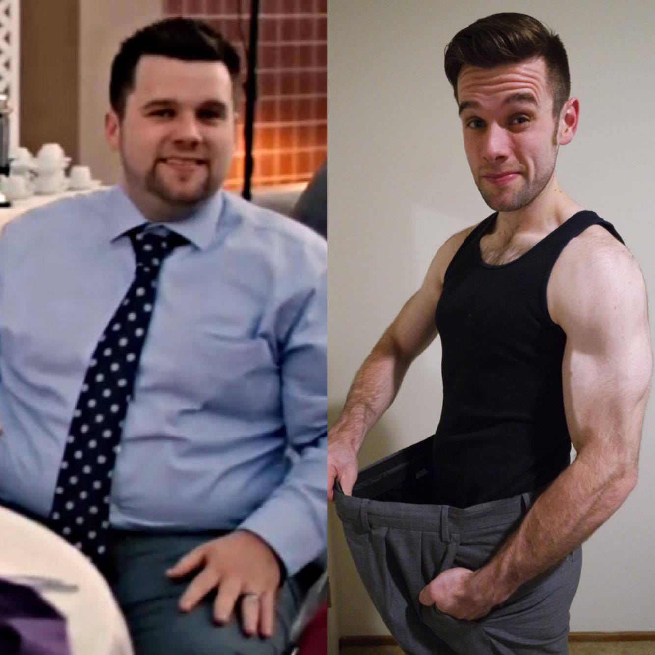 How I Went From Obese To Lean Start 2016 With The Right Mindset