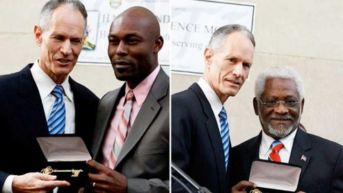 Actor Jimmy Jean-Louis Accepts Key to Miami-Dade County (Photos)