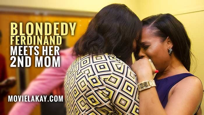 """Blondedy Ferdinand Reunited with her Second Mom at """"Dancing in the Shadow of Love"""" Premiere"""