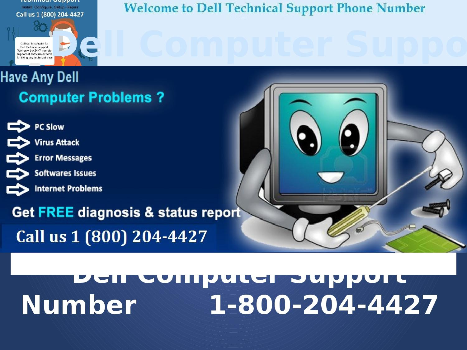 DELL US 1 800-204-4427 dell Computer support phone number