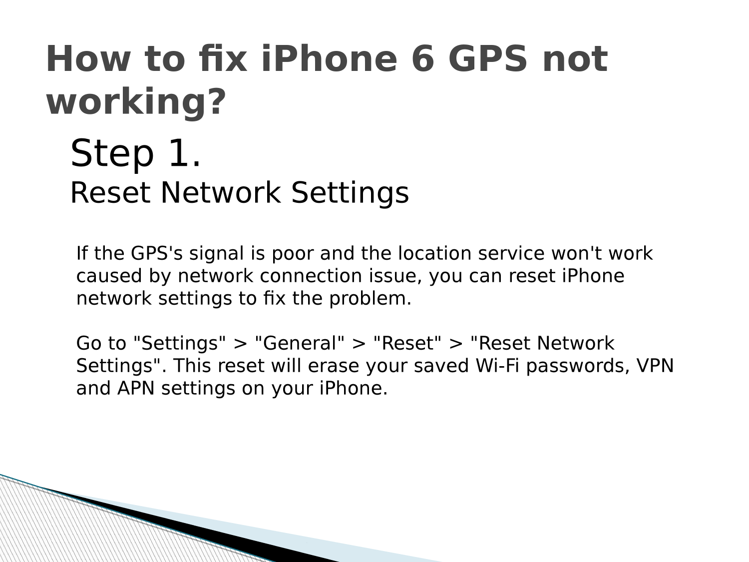 GPS Not Working in iPhone 1-855-791-4041 Fix Now