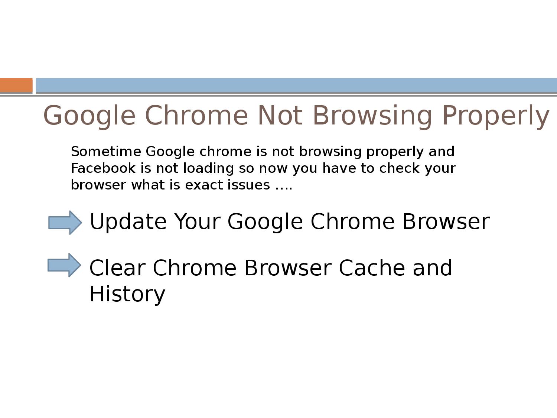 Facebook Not Loading in Google Chrome ?