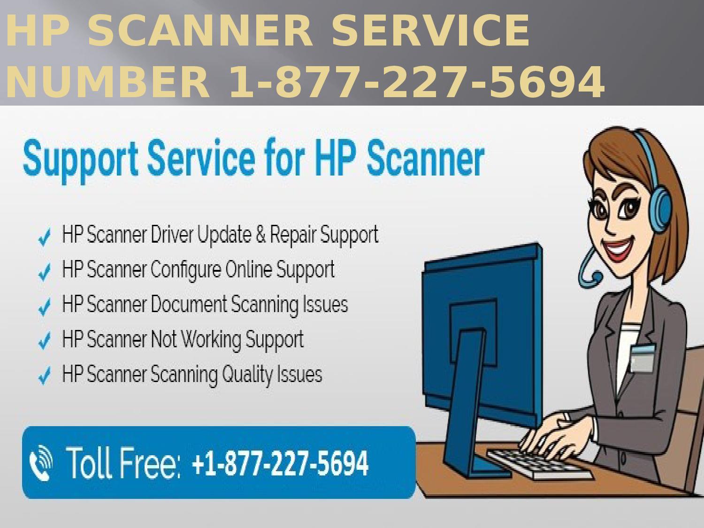 1-877-227-5694 HP Scanner Service number