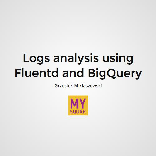Fluentd and BigQuery