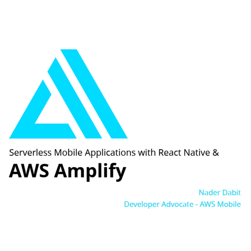 Aws Amplify React Example