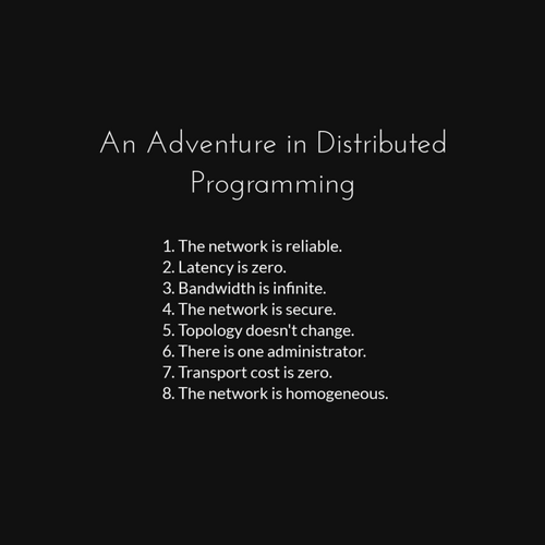 An Adventure in Distributed Programming