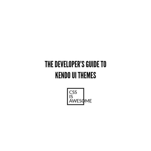 The Developer's Guide to Kendo UI Themes