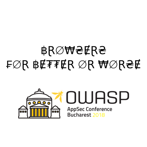 Browsers - For better or worse