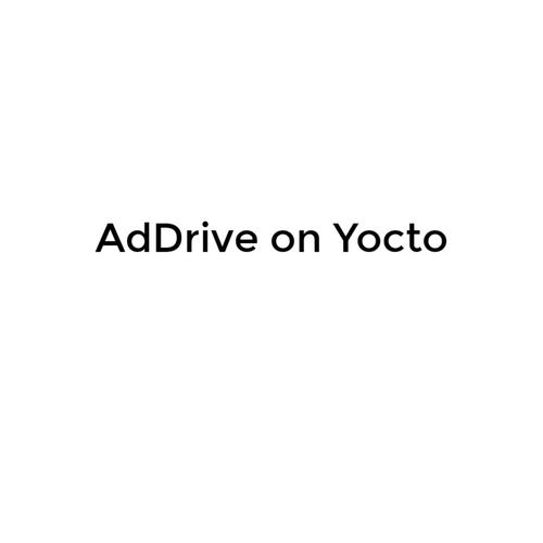 AdDrive on Yocto
