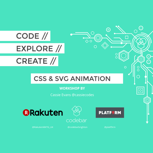 CSS and SVG animation workshop by codebarbrighton