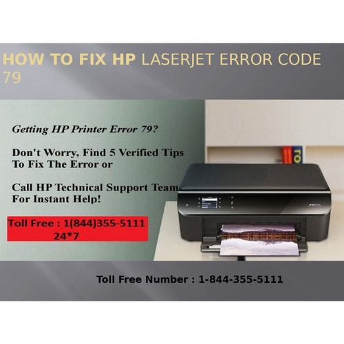 1(800)576-9647 How to Fix HP LaserJet Error code 79