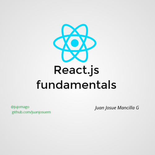React js fundamentals