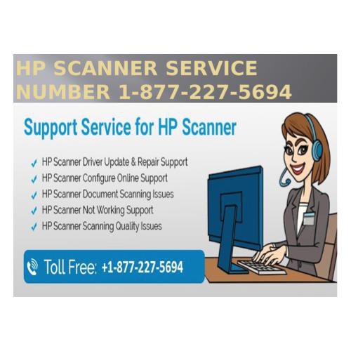 1-877-227-5694 HP Scanner Service number