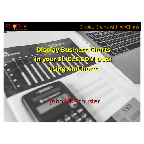 Add Business Charts in SLIDE Deck using AmChart