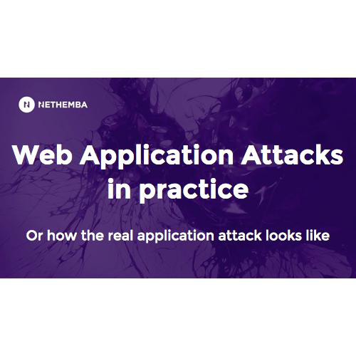 How the real application attack looks like