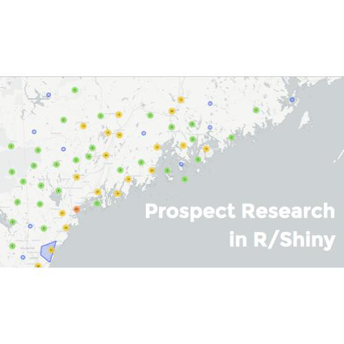 Public - R/Shiny for Prospect Research