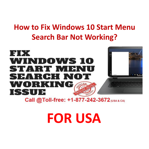 How To Fix Windows 10 Start Menu Search Bar Not Working