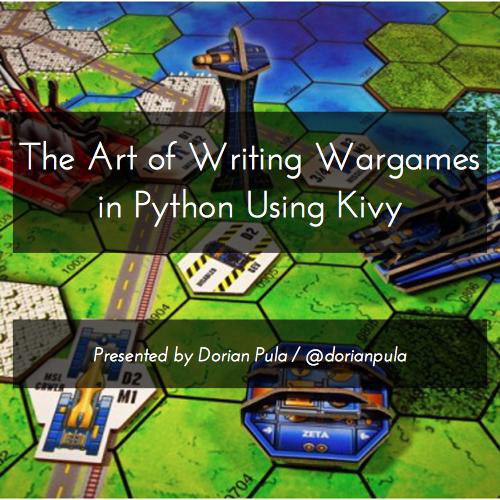 The Art Of Writing Wargames In Python With Kivy