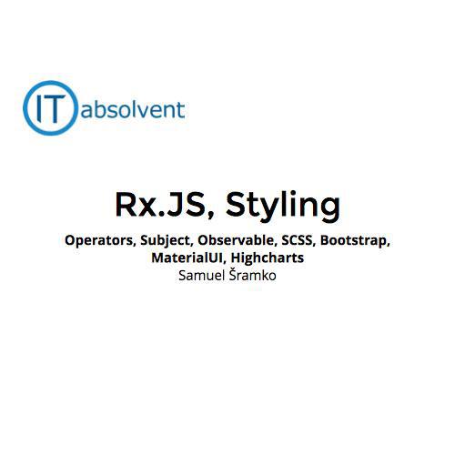 Rx JS, Styling