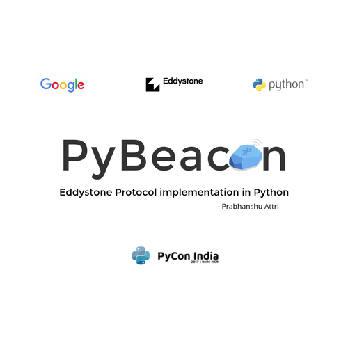 PyBeacon: Eddystone Protocol implementation in Python