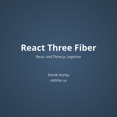 React Three Fiber