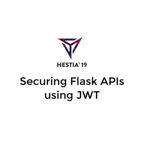 Securing Flask APIs using JWT