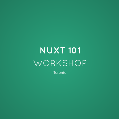 Nuxt js Workshop