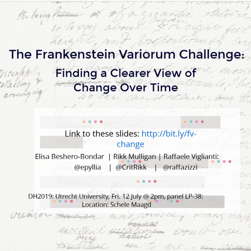 The Frankenstein Variorum Challenge: Finding A Clearer