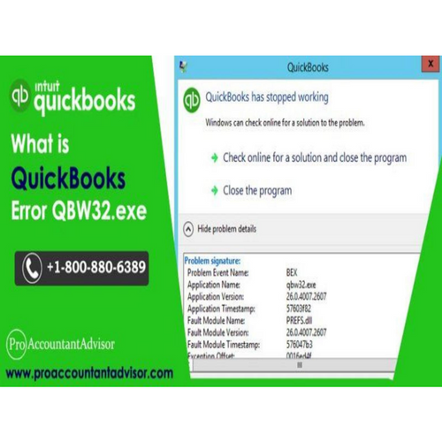Steps to Troubleshoot QuickBooks Error QBW32.exe