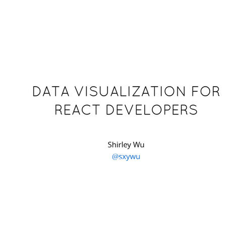 Front-end Masters: Data Visualization for React Developers