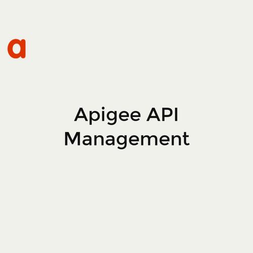 Apigee API Management