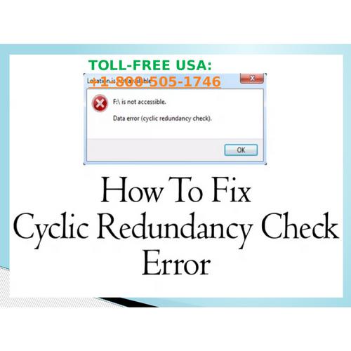 Fix Toshiba laptop redundancy check error? Dial +1-800-505-1746