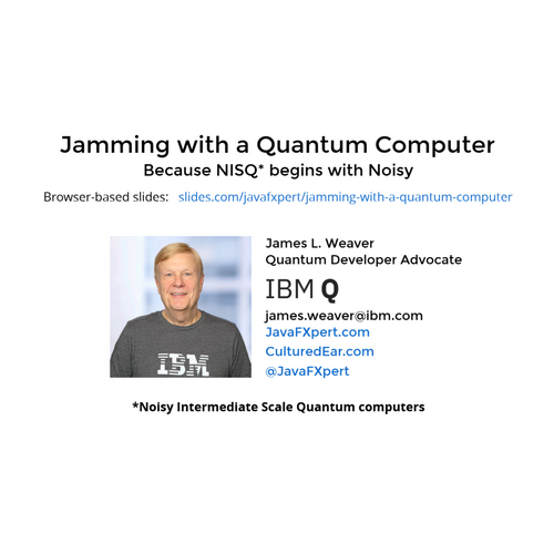 Jamming with a Quantum Computer