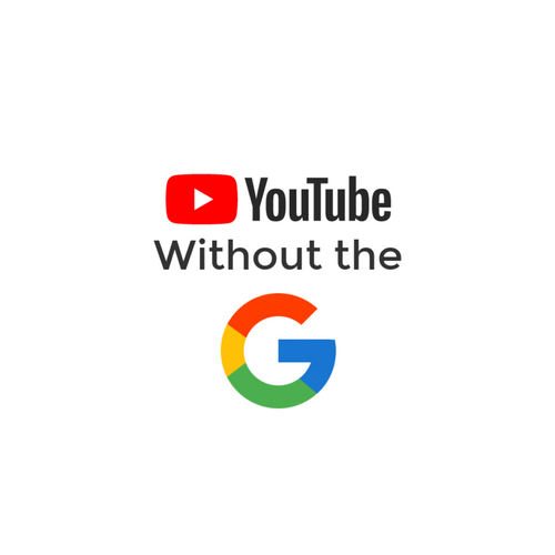 YouTube without the G