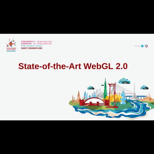 State-of-the-Art WebGL 2 0