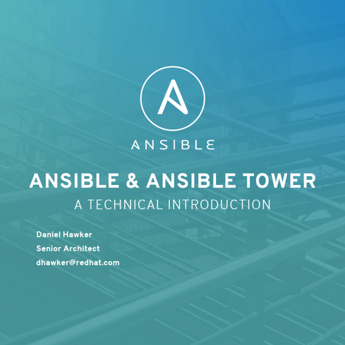 Ansible & Ansible Tower by Red Hat