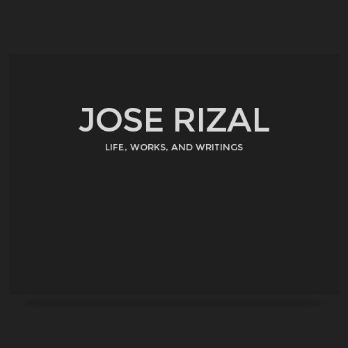 chapter 8 in jose rizal life works and writings Company logosocial science 3 ± jose rizal¶s life, works & writings chapter 9: rizal¶s grand tour of europe with viola (1887) br.