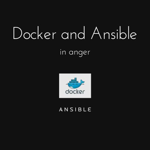 Docker and ansible