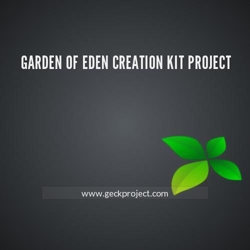Garden Of Eden Creation Kit Project