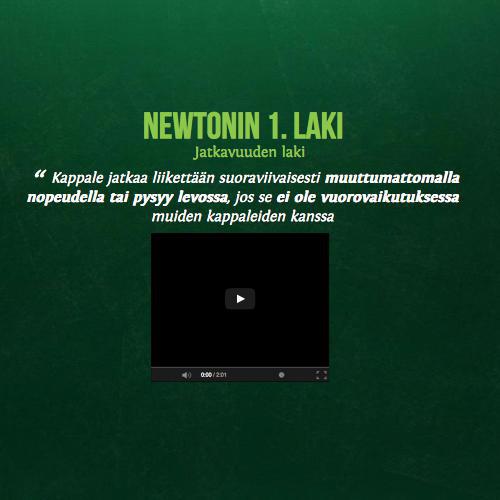 Newtonin 1 Laki