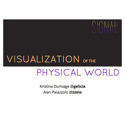 Visualization in the Physical World - Links