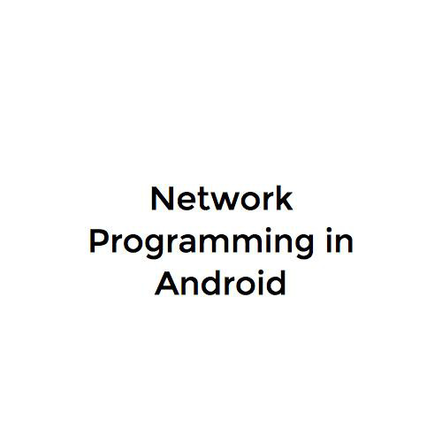Http Networking in Android