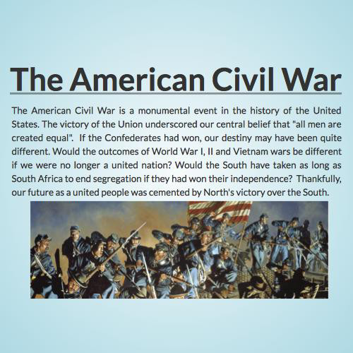 why the civil war was inevitable Why the civil war between captain america and iron man is inevitable tegan o'neil the main problem is that civil war was premised on the selective removal of.