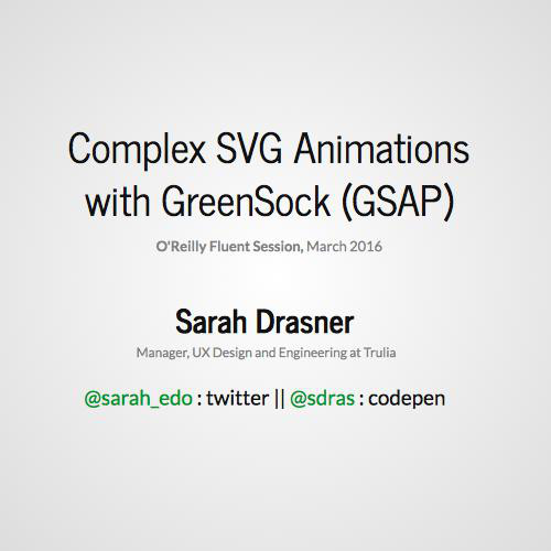 Complex SVG Animations with GreenSock (GSAP)