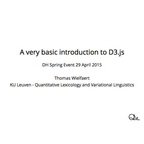 Introduction to D3 js
